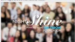 2019 Night to Shine International Kickoff