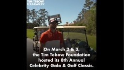 8th Annual Tim Tebow Foundation Celebrity Gala & Golf Classic