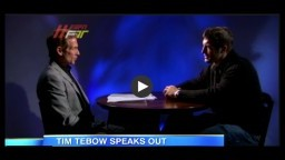 Tim Tebow Addresses His Fans and Faith