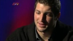 Skip Bayless Interviews Tim Tebow About His Faith